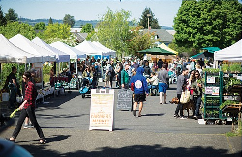 Springtime heralds the opening of Portland Farmers Market's across the city and that means four neighborhood weekly markets are coming ...