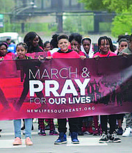 This year's focus for the Annual Prayer on the Nine event will be families and Pastor John F. Hannah invites all Chicagoans to meet him at the corner of 79th Street and Greenwood Avenue May 18 at 10 a.m. to pray for safety and peace in the community. Photo Credit: Provided by New Live Covenant Church Southeast