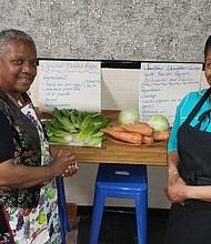 Community Chef Kitchen's Mireille Massac and Karlene Dinal