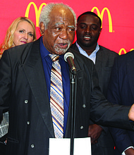 Congressman Danny Davis (pictured) recently gathered with McDonald's executives and restaurant owners on the west side of Chicago to announce that McDonald's is planning to hire 2,400 new employees this summer. Photo Credit: McDonald's