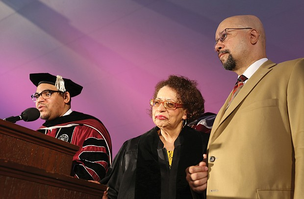 VUU's president announced a $2.5 million gift from Dr. Virginia B. Howerton, VUU Class of 1965. Officials said it is the largest single gift in VUU history.
