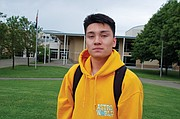 Parkrose High School junior Clayton Espenel was still in a state of shock as he returned to school Monday.  The school's close-call with an armed gunman was evaded thanks in part to the intervention of a school staff member, athletic coach and security guard Keanon Lowe.