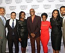 (l-r) Brotherhood/Sister Sol executive director Khary Lazarre-White, civil rights litigator Debo Adegbile, 