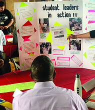 Mikva Challenge recently hosted their 17th Annual Action Civics Showcase where hundreds of teenagers from Chicago came together and presented the civic action projects they have been working on throughout the school year. Photo Credit: Mikva Challenge