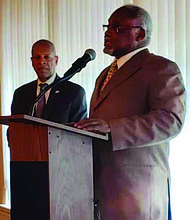 Mayor of the Village of Robbins, Tyrone Ward (pictured), was recently elected to serve as the new president of the South Suburban Mayors and Managers Association. Photo Caption: Provided by the Village of Robbins