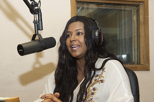 "LaNita Duke, broadcasts from KBOO Community Radio as producer of ""From the Grassroots."" The magazine format show was just awarded a West Coast Hometown Media Award."