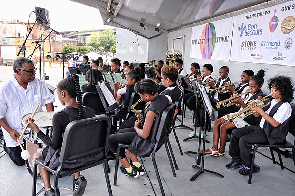 RVA East End Festival, a free, two-day celebration featuring the art and musical talents of public school students in Richmond's ...