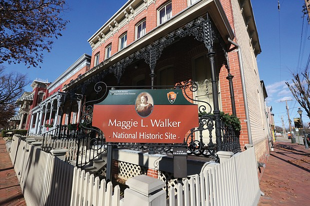 The National Park Service runs the Jackson Ward home of the late Maggie L. Walker, a Richmond businesswoman and national icon. Tours begin at the visitor center, 600 N. 2nd St.