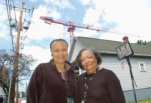 The unintended consequence of the construction of new luxury housing in inner northeast Portland left one African American homeowner and ...