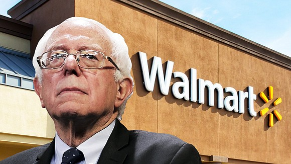 Democratic presidential candidate Sen. Bernie Sanders came face-to-face with Walmart's corporate leadership during the retail giant's annual shareholders meeting on ...