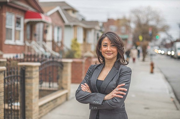 Malik, in fact, did not stand down, but continued her quest to become Queens district attorney by championing her accolades.