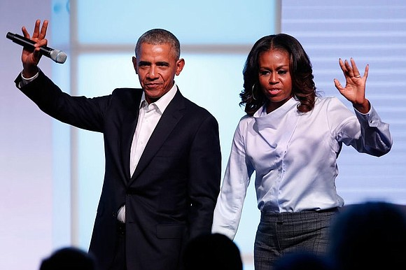 President Barack Obama and Michelle Obama have...