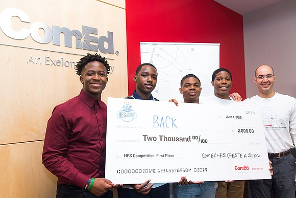 The inaugural year of the ComEd HFS Scholars STEM Program and Energy Academy concluded recently with student project presentations and ...