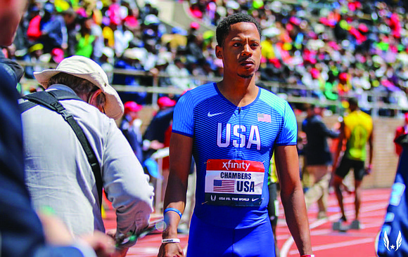 Marcus Chambers is a professional track and field athlete from Tacoma, WA, and has won several state and national awards ...
