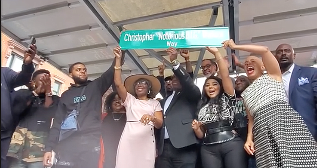 Street renaming for Notorious B.I.G. in Brooklyn