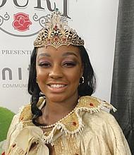 Rose Festival Queen Mya Brazile