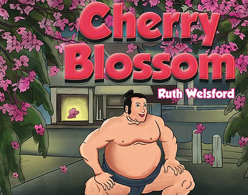 A Portland author's beautifully illustrated story about a sumo wrestler named Cherry Blossom helping his community in the aftermath of a major earthquake.