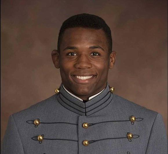 "Family and friends gathered on Tuesday for a memorial service for Christopher J. ""C.J."" Morgan, the 22-year-old cadet killed during ..."