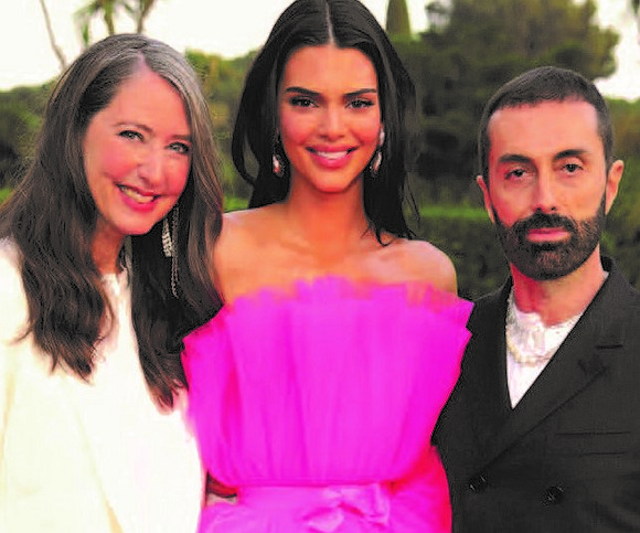 The stars dressed in glamorous must-have pieces from a unique limited-edition pre-drop collection from the Giambattista Valli x H&M collaboration.