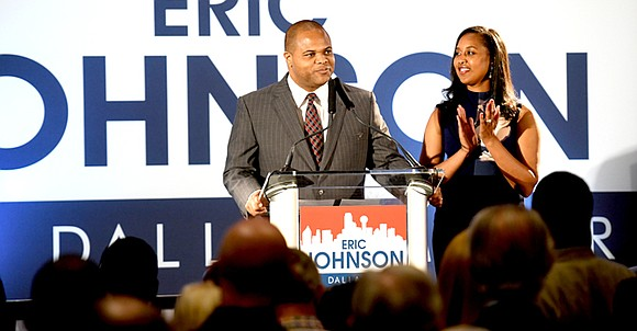 From humble beginnings in West Dallas to mayor of Dallas, state Rep. Eric Johnson – who grew up in West ...