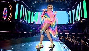 """Taylor Swift's """"You Need To Calm Down"""" is a pop anthem for equality and understanding.  CREDIT: Kevin Mazur/Getty Images for iHeartMedia"""