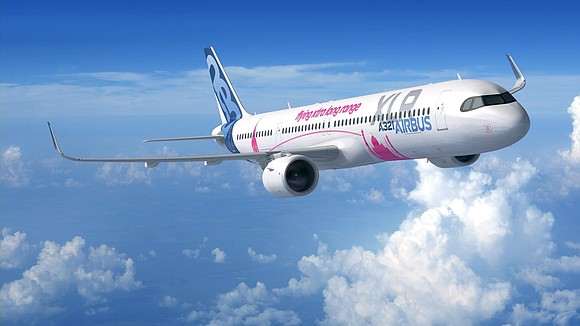"""Aircraft manufacturer Airbus has unveiled designs for the A321XLR -- an aircraft it claims will be the world's """"longest range ..."""