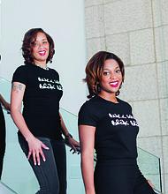 Co-Founders of Black Girls Break Bread Jessica Davenport-Williams, Khadija Warfield, and Jazzy Davenport-Russ (left to right) Photo Credit: Edith Bradford