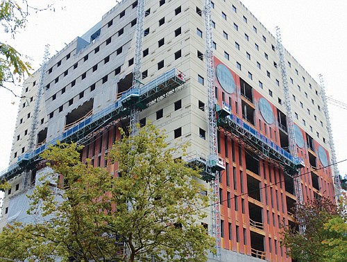 Renovation of the Portland Building is over budget by $19 million, has not complied with equity goals, and the work ...