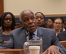 Actor Danny Glover speaks at the congressional hearing on reparations