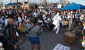 Tribute to the Ancestors of the Middle Passage at Coney Island