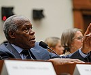 Actor and UNICEF Goodwill Ambassador Danny Glover speaks during Wednesday's House Judiciary subcommittee hearing on reparations for slavery on Capitol Hill in Washington.