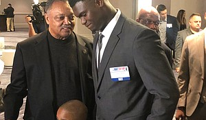 Rev.Jesse Jackson with Zion Williamson