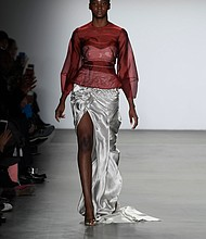 Fall 2019 designs from Global Fashion Collective show at New York Fashion