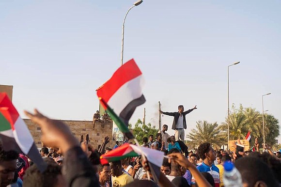 Social media profiles have turned blue to stand in solidarity with and bring awareness to the civil crisis in Sudan.