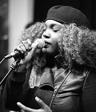 Washington Park resident, Aminata Burton, better know as Ami, will be giving a solo vocal performance on July 11 at this year's Taste of Chicago Event. Photo Credit: Courtesy of Ami