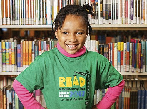 Multnomah County encourages kids to read for fun and prizes this summer. The annual Summer Reading program is in full swing at all branch libraries.