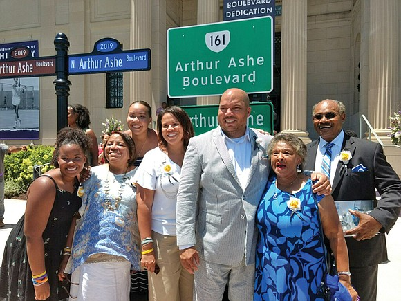 We are still basking in the gloriousness of the Arthur Ashe Boulevard street renaming ceremony and events last Saturday at ...