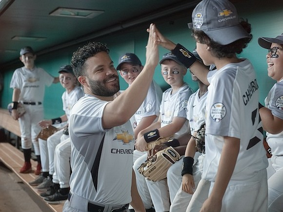 Chevrolet is partnering with Houston Astros second baseman José Altuve to support youth sports development. Altuve will be a Chevy ...