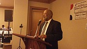 Keynote speaker, Harry Alford, Founder of the National Black Chamber