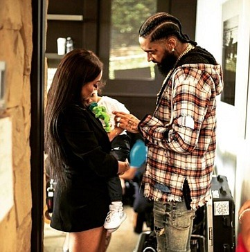 This was Lauren London's first Father's Day without Nipsey Hussle, her boyfriend and the father of her child. Nipsey, born ...