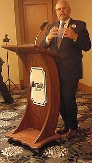 Randy Conroy, GM, Harrah's Casino, Joliet