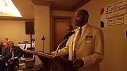 Terry Morris, Minor, Morris Funeral Home award recipient.