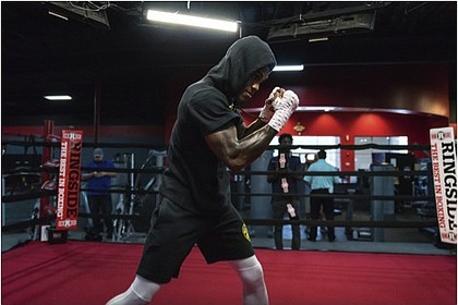 WBC Middleweight Champion Jermall Charlo photo by  Mike Jackson/Showtime