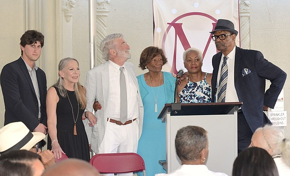 Dr. Hazel N. Dukes had her plaque unveiling ceremony at Ruby's Vintage in Harlem on Sunday, June 30; it was ...