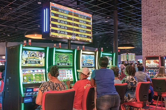 Slot machines are illegal in Virginia. But don't tell that to Shannon Bratson, 52, or many of the 1,200 others ...