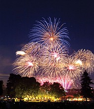 The annual Vancouver Fireworks Spectacular presented by Columbia Credit Union will return to the Fort Vancouver National Historic Site on Thursday, July 4. Festivities for the whole family will begin at 4 p.m. with the fireworks show starting at 10:05 p.m. KGW-TV Channel 8 will livestream the show.