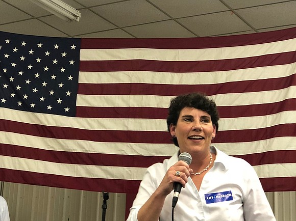 Amy McGrath, the former fighter pilot who narrowly lost a bid for Congress last year, on Tuesday launched her campaign ...