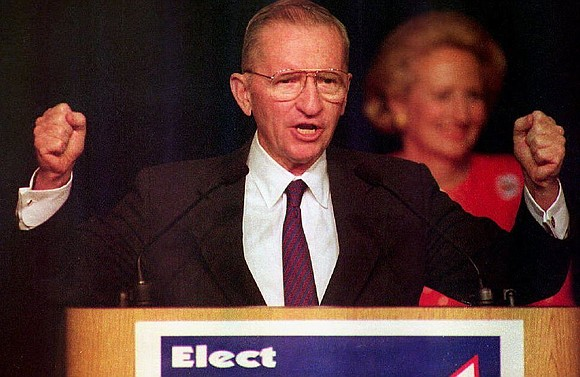 Ross Perot, the billionaire tycoon who mounted two unsuccessful third-party presidential campaigns in the 1990s, died Tuesday, family spokesman James ...