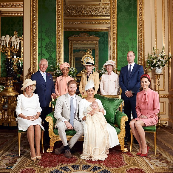 Archie Harrison Mountbatten-Windsor, the 2-month-old son of Britain's Prince Harry and his wife Meghan, was christened last Saturday in a ...