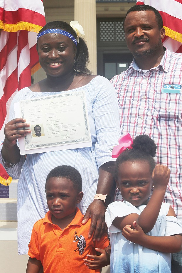New U.S. citizens